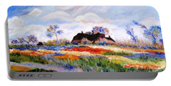 Monet's Tulips Portable Battery Charger