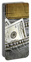 Money Jeans Portable Battery Charger