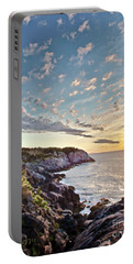 Monhegan East Shore Portable Battery Charger by Tom Cameron