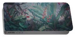 Monkees In The Jungle Portable Battery Charger
