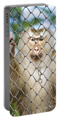 Monkey Behind Bars Portable Battery Charger