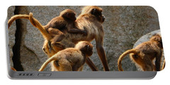 Monkey Family Portable Battery Charger