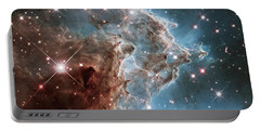 Portable Battery Charger featuring the photograph Monkey Head Nebula by Marco Oliveira