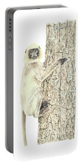 Monkey In The Tree Portable Battery Charger