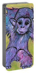 Monkey Mischief Portable Battery Charger