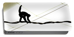 Monkey On A Wire Portable Battery Charger