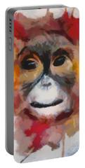 Monkey Splat Portable Battery Charger