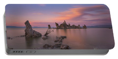 Mono Lake Long Exposure Sunset  Portable Battery Charger