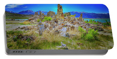 Mono Lake, South Tufa's Portable Battery Charger by Craig J Satterlee
