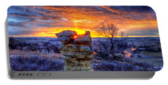 Monolithic Sunrise Portable Battery Charger