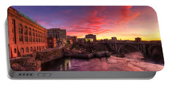 Monroe Bridge Sunset View Portable Battery Charger