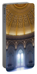 Portable Battery Charger featuring the photograph Monserrate Palace Room by Carlos Caetano