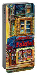 Monsieur Falafel Portable Battery Charger