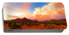 Monsoon Storm Sunset Portable Battery Charger