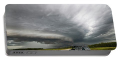 Monster Storm Near Yorkton Sk Portable Battery Charger