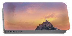 Mont-saint-michel At Dawn Portable Battery Charger