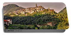 Montalto Ligure - Italy Portable Battery Charger by Juergen Weiss