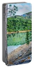 Montana - Lake Como Portable Battery Charger