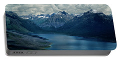 Montana Mountain Vista And Lake Portable Battery Charger
