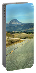 Portable Battery Charger featuring the photograph Montana Road by Jill Battaglia