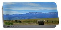 Montana Scene Portable Battery Charger