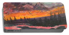 Montana Sunset Portable Battery Charger