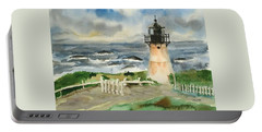 Montara Lighthouse, Plein Air Portable Battery Charger