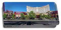 Monte Carlo Casino Las Vegas 2 To 1 Ratio Portable Battery Charger by Aloha Art