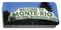Monte Rio Sign Portable Battery Charger