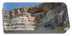 Portable Battery Charger featuring the photograph Montezuma Castle National Monument Arizona by Steven Frame