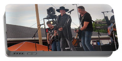 Portable Battery Charger featuring the photograph Montgomery Gentry by Aaron Martens