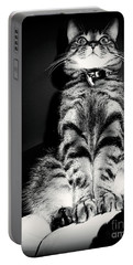 Monty Our Precious Cat Portable Battery Charger