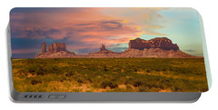 Monument Valley Landscape Vista Portable Battery Charger