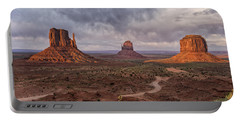 Monument Valley Mittens Az Dsc03662 Portable Battery Charger by Greg Kluempers