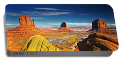 Monument Valley Mittens Utah Usa Portable Battery Charger