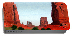 Monument Valley North Window Portable Battery Charger