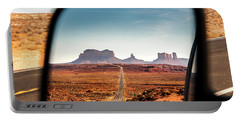 Monument Valley Rearview Mirror Portable Battery Charger