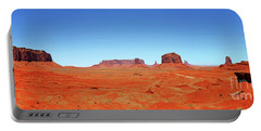 Monument Valley Two Portable Battery Charger by Paul Mashburn