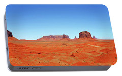 Portable Battery Charger featuring the photograph Monument Valley Two by Paul Mashburn