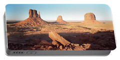 Monument Valley, Utah Portable Battery Charger by A Gurmankin