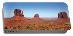 Monument Valley Utah The Mittens Portable Battery Charger