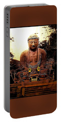 Portable Battery Charger featuring the photograph Monumental Japanese Zen Buddha by Peter Gumaer Ogden
