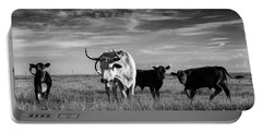 Moo Portable Battery Charger by Karen Slagle