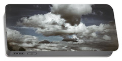 Moodiness In The Clouds Portable Battery Charger by Karen Stahlros