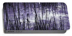 Portable Battery Charger featuring the photograph Moody Mud by Laura Ragland