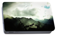Portable Battery Charger featuring the photograph Moody Weather by Mimulux patricia no No