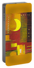 Moon Abstract 32817 Portable Battery Charger