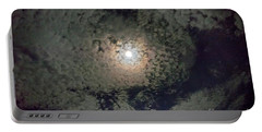 Moon And Clouds Portable Battery Charger