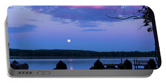 Moon And Pier Portable Battery Charger