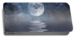 Moon And Sea Portable Battery Charger